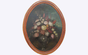 Nature_morte_XVIII_fleurs / Still Life, Early XVIII, Italy