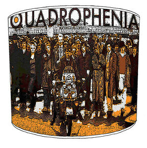 Lampshades Ideal To Match Mods & Rockers, Rock n Roll Quadrophenia Wall Stickers