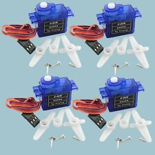 4x 9g Micro Servo for SG90 trex align Rc helicopter Airplane Foamy Plane robot I