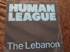 "Human league - the Lebanon , excellent condition uk 7"" vinyl"