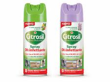 2 CITROSIL SPRAY sanificante per TESSUTI e SUPERFICI aroma AGRUMI e LAVANDA