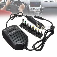 80W DC Car Auto Universal Charger Power Supply Adapter Set For Laptop Notebook