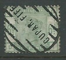 GB QV 1883 6d dull green SG194 DI good used. Cupar, Fife postmark.(5463)