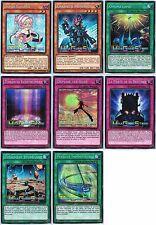 YUGIOH ======= WSUP ===> Les Superstars Mondiales <=== Lot de 8 cartes Prismatic