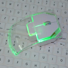 LED Clear Wireless Mouse Mice for iMac Mac Pro ChromeBook Netbook EeePC UMPC US