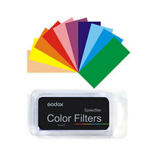 Godox 7 Colors Universal Filter Kit for Canon Nikon Yongnuo Flash Speedlite