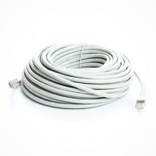 75 ft. White CAT6a Shielded (10 GIG) STP Network Cable w/ Metal Connectors