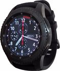 Samsung Galaxy Gear S3 Frontier 46mm Watch Stainless Steel Case Black Band R760