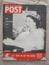 PICTURE POST - 15 NOV 1952 -  OUR SOVEREIGN LADY, WATCHERS IN THE WINDOW