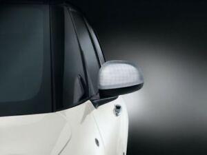 Genuine Fiat 500L Mirror Caps / Covers (Aluminium) 50927036