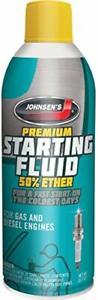 Johnsen's 6752-12PK Premium Starting Fluid - 10.7 oz. Pack of 12