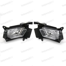 1Pair Fog Lights Fog Lamps with brackets Front For Mazda 3 2008-2012