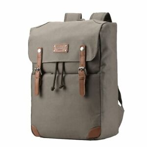 TDC005A Troop London Classic Canvas Backpack, Smart Casual Daypack, Tablet Frien