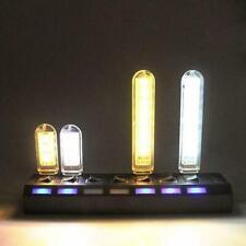 Mini USB LED lamp Book lights 3/8 LEDs 5730 SMD Camping Bulb Y5F8