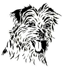 Dog Stencil-Strong 350 micron Mylar not Hobby stuff #DOGS030 AFGHAN