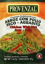 Provenzal Arroz con Pollo - Seco - Pollo / Chicken with Rice - Stew - Soup