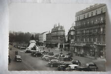 Cpa carte postale photo Valence Drôme place de la république café auto ancienne