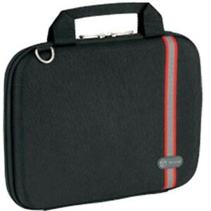 """TARGUS RACING STRIPE HARDSIDED LAPTOP CASE 11.6 inch ,FITS NOTEBOOK 8.9"""" - 11.6"""""""
