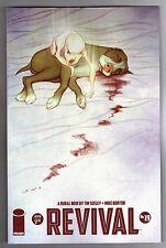 REVIVAL #19 - 1st PRINTING - JENNY FRISON COVER - MIKE NORTON ART - 2014
