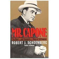 Mr. Capone by Robert J. Schoenberg (1993, Paperback)