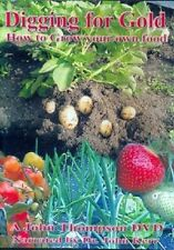 DIGGING FOR GOLD - HOW TO GROW YOUR OWN FOOD - NEW DVD