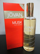 jovan musk for women cologne concentrate spray 3.25 for her new in box