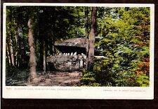 1902 Alligator Rock near South Lake Catskill mountains New York postcard