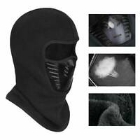 Men Women Balaclava Fleece Full Face Mask Outdoor Winter Ski Neck Warm Windproof