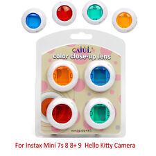 4Pcs Colour Close-Up Lens Set For Fujifilm Instax Mini 7s 8 8+ 9 Film Cameras AU