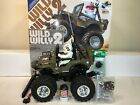 Vintage Tamiya 58242 1/10 Scale Wild Willy 2 RC Kit 1999 with Extras