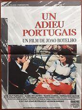 Affiche UN ADIEU PORTUGAIS Joao Botelho ISABEL DE CASTRO Ruy Furtado 40x60cm