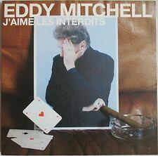 "EDDY MITCHELL - CD SINGLE PROMO ""J'AIME LES INTERDITS"" - GRAND FORMAT"