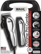 Wahl Chrome Pro Combo Haircutting & Touch-up Kit 22 pieces New