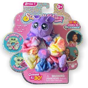 Scrunchmiez Lulu Puppy Tie Dye Hair Scrunchy Backpack Clip Toy Series 1 NEW