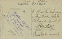 FRANKREICH 1921 Allegorie Typ Blanc 2 C u. 3 C m. Säerin 5 C orange AK n. INDIEN