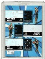 R.ARTEST,D.GRANGER,& J.O'NEAL 2006 TOPPS LUXURY BOX TRIPLE GAME WORN JERSEYS#