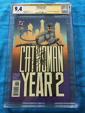 Catwoman #38 - DC - CGC SS 9.4 NM - Signed by Jim Balent - Batman