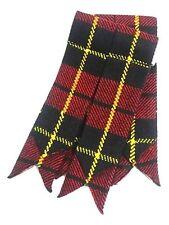 Hombre Falda Escocesa Calcetines Bandas Wallace Tartán / Clan Tartanes Kilts