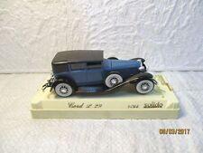 Solido Cord L 29 bleu & noir, Age d'or SOLIDO réf 4055