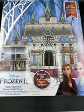 NEW 2019 Disney Frozen 2 II Make Your Own Frozen Castle Cardboard Playset C9