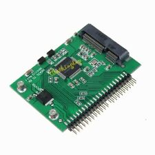"""mSATA SSD to half height 2.5"""" IDE PATA adapter to laptop 2.5 inch 44 pin"""