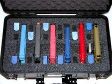 "Pelicanâ""¢ 1535 6 pistol handgun foam insert fits upgrades your case +nameplate"
