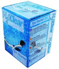 CLEAR H2O SWIMMING SPA HOT TUB STARTER KIT TREATMENT CHEMICALS