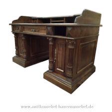 Schreibtisch,Sekretär,PC -Tisch,Arbeitstisch,mit Aufsatz,Gründerzeit,Weichholz