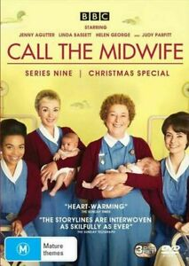 CALL THE MIDWIFE COMPLETE SERIES 9 DVD Region 4 BRAND NEW & SEALED!