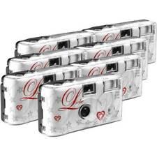 Macchina fotografica usa e getta Love White 7 pz. con flash integrato