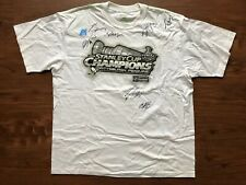 2009 Pittsburgh Penguins Signed T-Shirt XL Stanley Cup Champions NO COA