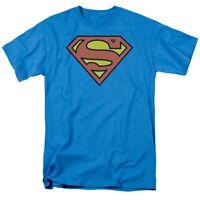 Superman Logo T-Shirt DC Comics Sizes S-3X NEW