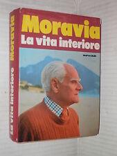 LA VITA INTERIORE Alberto Moravia Euroclub 1979 libro romanzo narrativa racconto