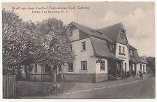 Ak Gruß aus dem Gasthof Bieberstein Amt Reinsberg um 1925 ! (A1255